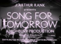 A Song for Tomorrow 1948 DVD - Evelyn McCabe / Ralph Michael